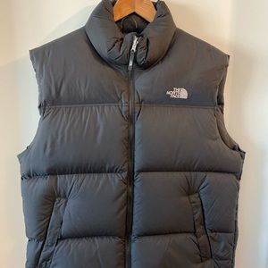 Black North Face Puffer Vest